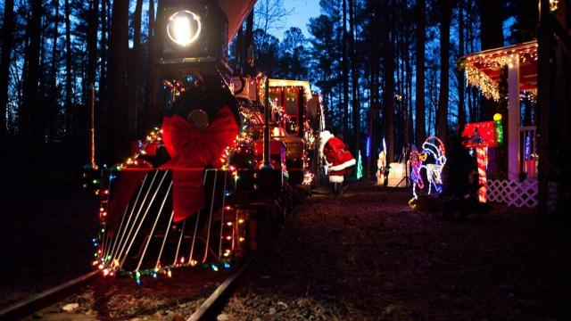 Tweetsie Christmas.All Aboard 7 Christmas Trains Across Triangle North