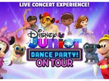 Disney Junior Dance Party On Tour stops at DPAC in April 2018