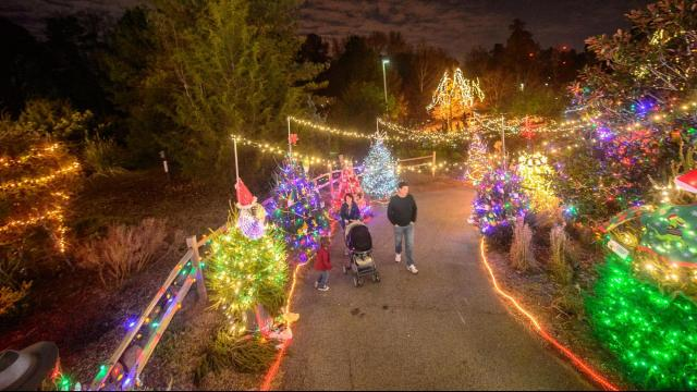 The Museum of Life and Science is holding its 40th annual Santa Train in 2017. Credit: Kissick Photography