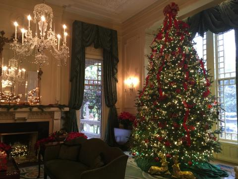 Christmas at the N.C. Executive Mansion
