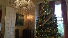 IMAGES: 14-foot Christmas trees, homey decor: Open house at governor's mansion starts Wednesday