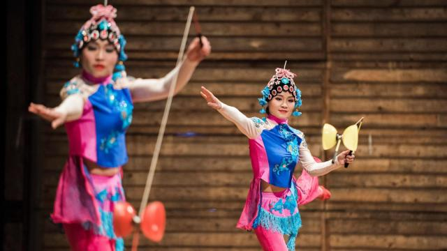 The North Carolina Chinese Lantern Festival at Koka Booth Amphitheatre in Cary, N.C.