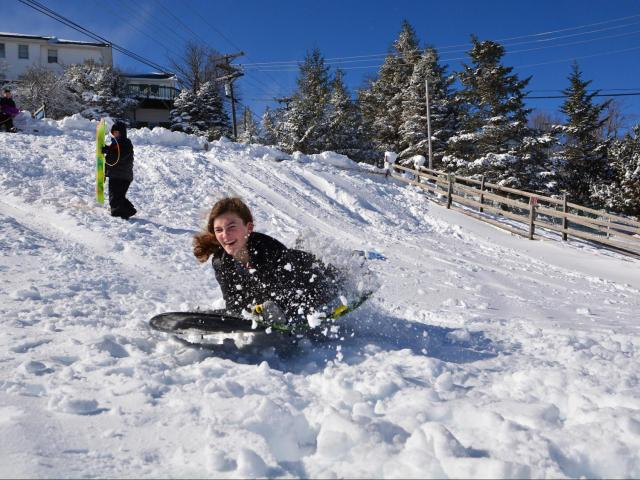Kids Want To Go Sledding Take A Road Trip To The Free Youth - The best sledding hills in north america