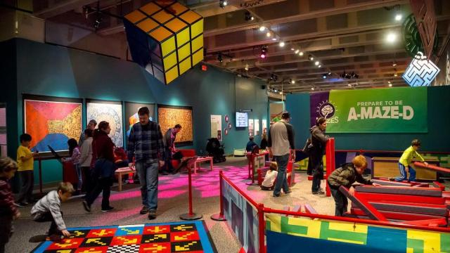 Put your brain to the test at this special exhibit at the N.C. Museum of Natural Sciences in downtown Raleigh. It's open through Sept. 3, 2018. Courtesy: N.C. Museum of Natural Sciences