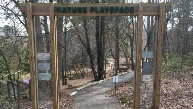Nature Playspace at Prairie Ridge Ecostation