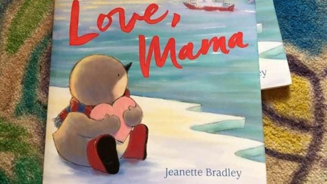 Love, Mama, a new picture book by Jeanette Bradley