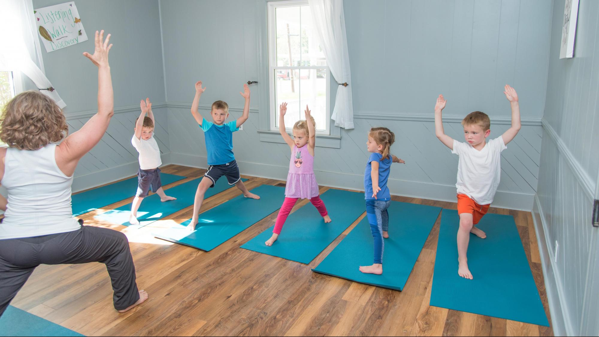 Growga Corepower Team Up For Yoga For Kids Adults Wral Com