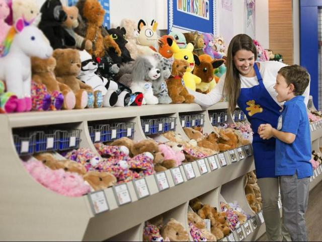 Unexpected crowds gather at Triangle malls for Build-A-Bear's 'Pay Your Age Day' :: WRAL.com