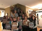 IMAGES: Made By Mom Gift Guide: Interior designer offers custom wood decor she makes - or you make at popular DIY parties