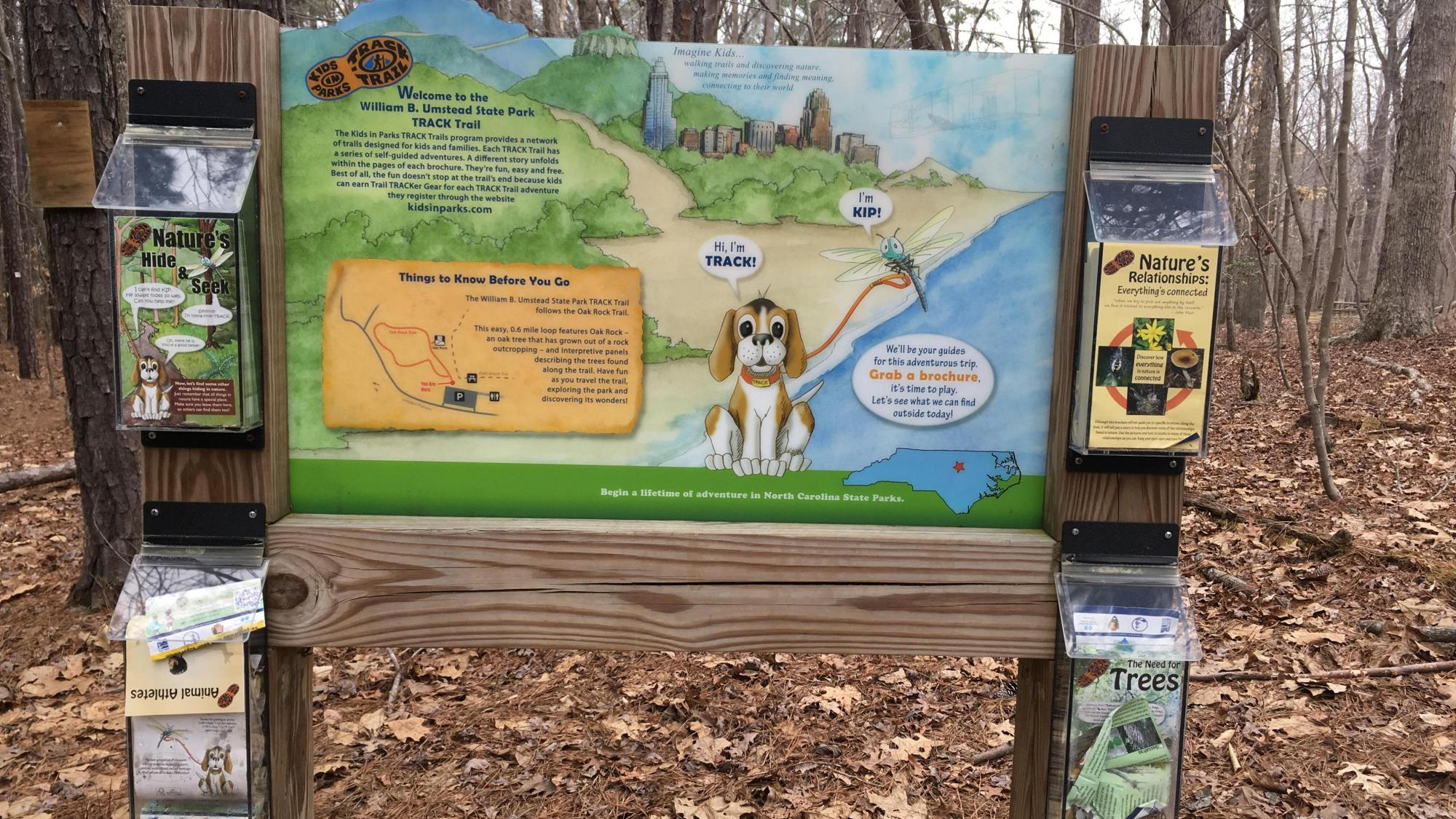 Go for a hike: Four new kid friendly TRACK Trails open in