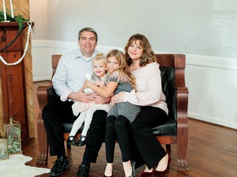 Karissa Binkley and family