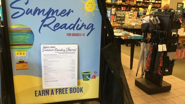 Read eight books, earn a free one through Barnes & Nobles' summer