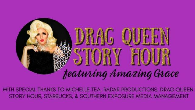 Courtesy: Drag Queen Story Hour, Raleigh