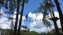 IMAGES: Take the Kids: Climb around the tree tops at TreeRunner Adventure Park