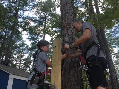 TreeRunner Adventure Park in north Raleigh