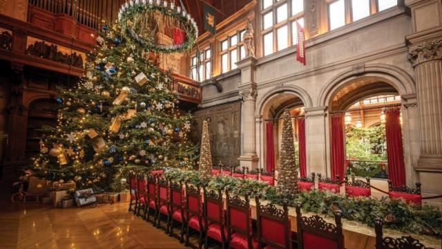 Christmas at Biltmore opens with