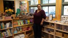 IMAGES: Mobile children's pop-up bookstore highlights stories that feature African American children