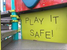 Kiwanis Park playground, Raleigh