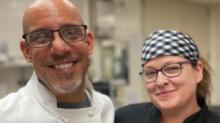 IMAGES: For virtual school families, this local chef couple brings the lunch line home