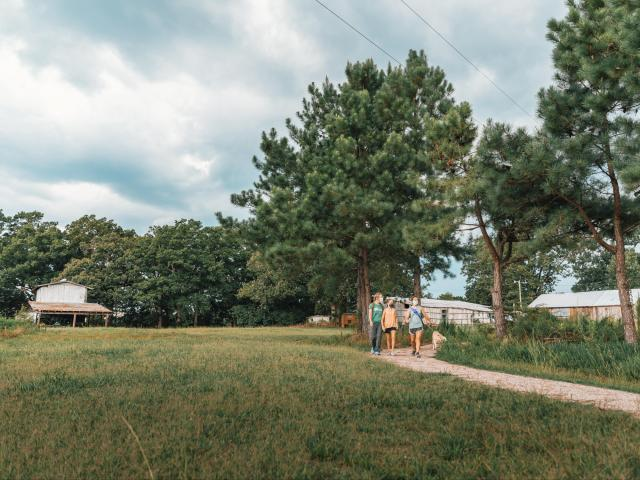 Want to go for a stroll? Check out the Triangle's newest nature preserve with trails, working farms
