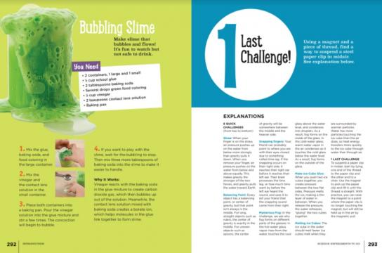 Bubbling Slime from the Highlights Book of Things to Do