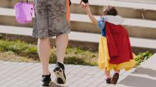 IMAGES: As families prepare for Halloween, Wake County urges caution to limit COVID spread