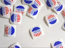 Election Day, I Voted stickers