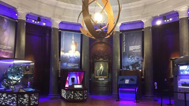 Gateway Gallery at Morehead Planetarium