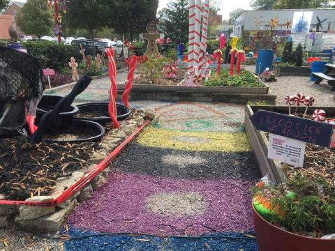 CandyLand in the Garden in Clayton
