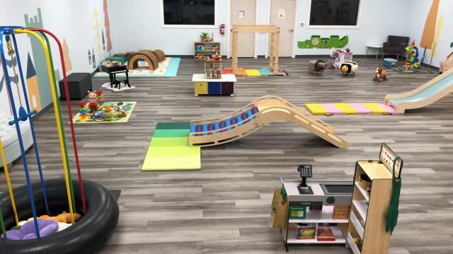 Play area at Bumble Brews