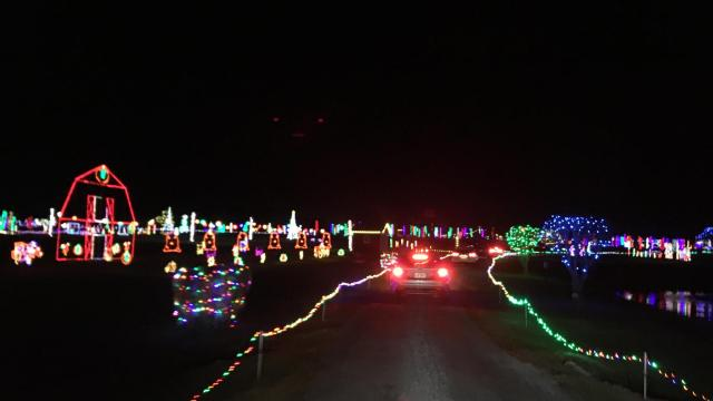 Hill Ridge Farms' Festival of Lights 2020