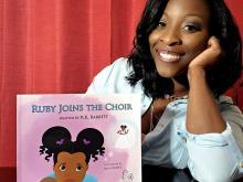 R.K. Barrett, author of Ruby Joins the Choir
