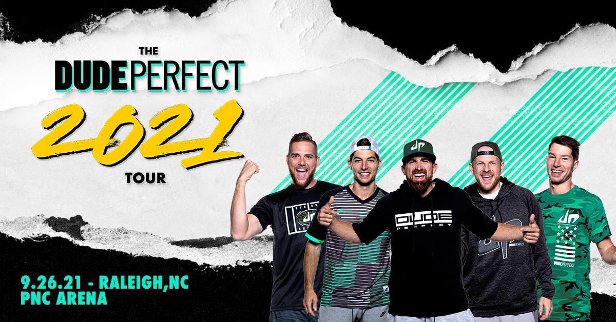 Dude Perfect to stop at PNC Arena in September
