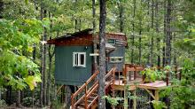 IMAGES: This NC child put his tree house on Airbnb to help support mom, community