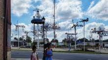 IMAGES: Take the Kids: Vollis Simpson Whirligig Park and Museum