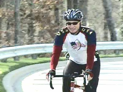 Drew Bratton has atrial fibrillation, but he also has a supportive wife and a cardiologist who has helped him  set up a system for daily check-ins during a coast-to-coast ride he began March 17.