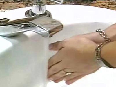 Ads Campaign Against Spread of Germs