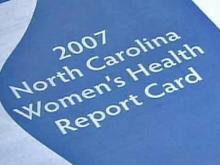 Report Card on N.C. Women's Health Released
