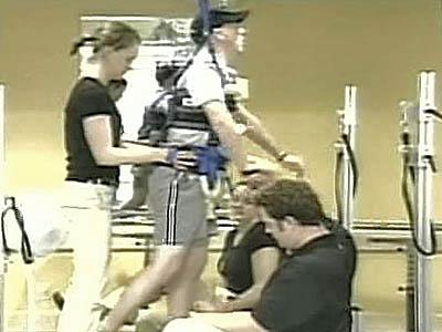 Therapy Helps Retrain Damaged Spinal Cords