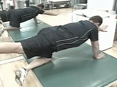 Exercise helps build the tiny stabilizing muscles of the spine.