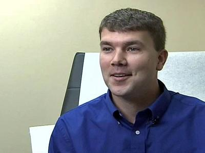 Ben Britt had four treatments to remove varicose veins at Medina's Triangle Vein Clinic.