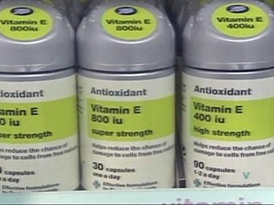 Antioxidant vitamins may not be beneficial