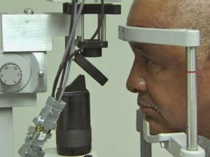 A break-through infrared camera at Duke University Medical Center's Eye Center can help diagnose narrow-angle glaucoma, a leading cause of blindness which routine eye exams can miss.