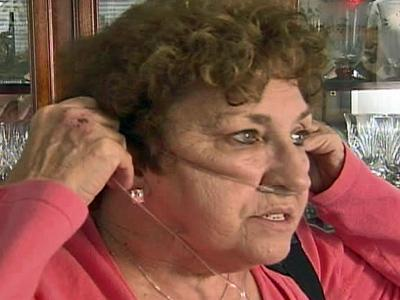 Nita Powell, a patient at Duke University Medical Center, said emphysema and a portable oxygen tank are part of the price she is paying for 45 years of smoking.