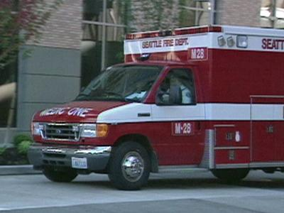 A Seattle ambulance (Photo by: JAMA)