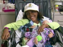Belize girl treated for bone cancer in N.C.