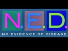 N.E.D's music is rock, but with a niche all its own: It's Gynecologic Oncology rock – with a mission.