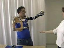 AAmputees learning to control limbs more precisely