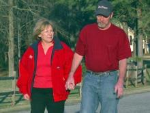 Donna and Ron Archer, of Clayton heart disease health team story