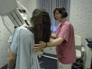 Pregnant woman are urged not to get mammograms.